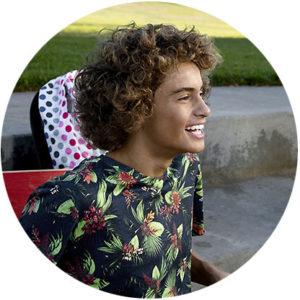 teen Invisalign lauging newmarket